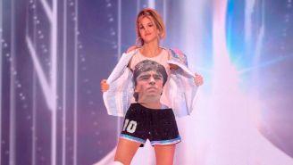 Miss Argentina en pasarela