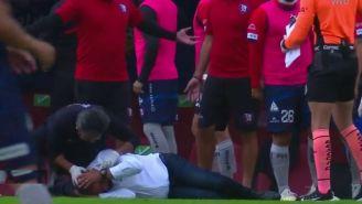 Paco Ramírez fue agredido durante el partido