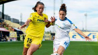 Rubí Soto en el duelo entre el Villarreal y el Pozoalbense