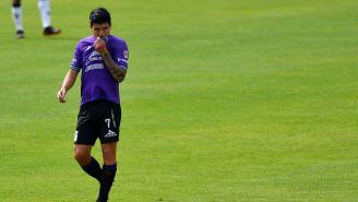 Luis Ángel Mendoza durante un partido con Mazatlán