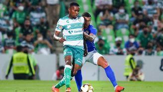 Félix Torres en la Ida contra Cruz Azul