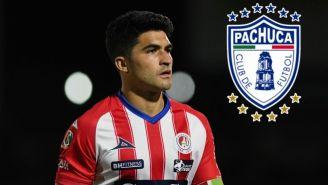 Nico Ibáñez es nuevo jugador de los Tuzos de Pachuca