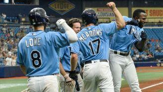 MLB: Randy Arozarena pegó el primer grand slam de su carrera en victoria de Rays sobre Orioles