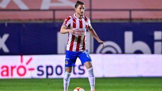 Hiram Mier en partido de Chivas