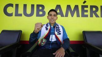 Salvador Reyes, en su llegada a Coapa