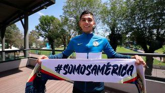 Salvador Reyes sobre llegada al América: 'Se me enchinó la piel al saber que sería Águila'
