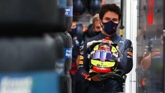 Sergio 'Checo' Pérez en la sesión de calificación del GP de Francia