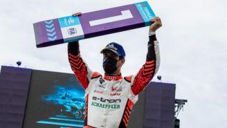 Lucas di Grassi tras ganar el ePrix de Puebla