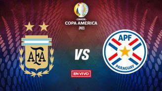 EN VIVO Y EN DIRECTO: Argentina vs Paraguay Copa América FG