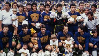 Pumas en la Final de la Temporada 1990-1991