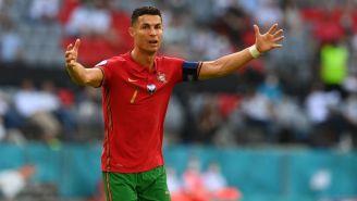 Cristiano Ronaldo en festejo