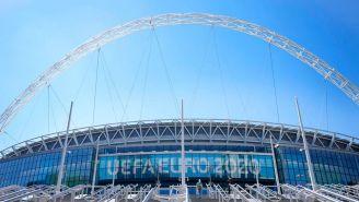 Eurocopa: Semifinales y Final en Wembley podrán contar con más de 60 mil aficionados
