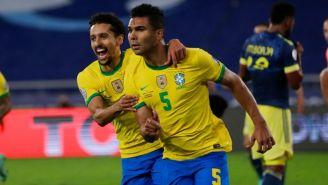 Casemiro marcó el gol de la victoria