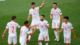 España goleó 5-0 a Eslovaquia y jugará Octavos
