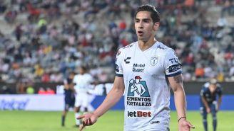 Erick Aguirre como jugador de Pachuca