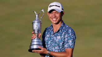 Collin Morikawa conquistó el British Open