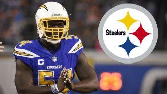 Steelers: Melvin Ingram es nuevo jugador del equipo