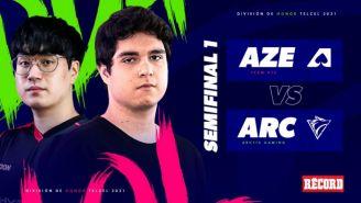 Team Aze y Arctic Gaming definen al primer finalista de la División de Honor