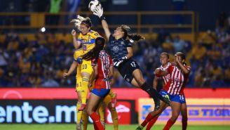 Chivas frente a Tigres en la Final del Clausura 2021 de la Liga MX Femenil