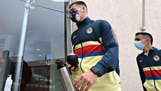América: Federico Viñas fue enviado a la tribuna para juego ante Querétaro