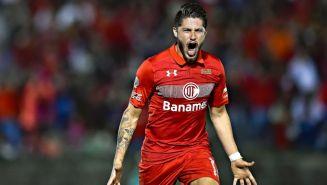 Diego Gama como jugador del Toluca
