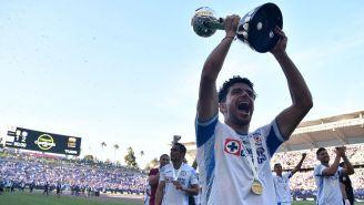 Nacho Rivero con el título de Campeón de Campeones