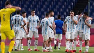 Selección de Argentina reacciona a su eliminación de Tokio 2020
