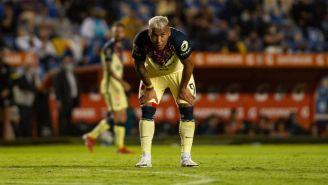 Roger Martínez en el partido entre América y Querétaro