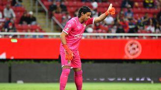 Antonio Rodríguez en un partido con Chivas