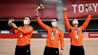 Tokio 2020: Holanda destroza a Gran Bretaña en el sprint por equipos