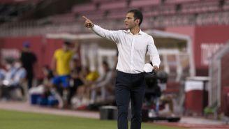 Jaime Lozano durante un partido con el Tri Olímpico