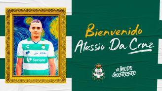 Así presentaron a Alessio Da Cruz