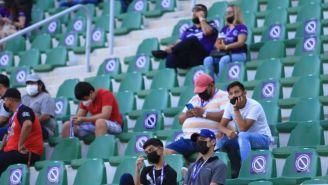 Aficionados de Mazatlán FC en el Kraken