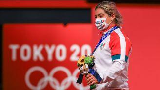 Aremi Fuentes tras su podio en Tokio 2020