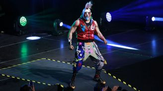 Psycho Clown durante un evento de lucha