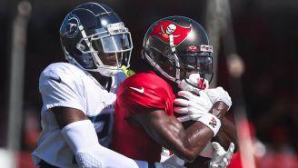 NFL: Antonio Brown golpeó a un jugador de los Titans en una práctica
