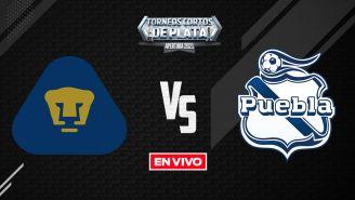 EN VIVO Y EN DIRECTO: Pumas vs Puebla Liga MX Apertura 2021 J6