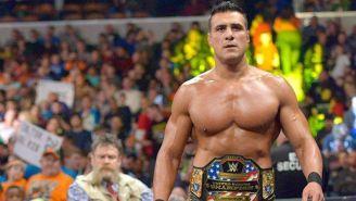 Alberto El Patrón en su paso por la WWE