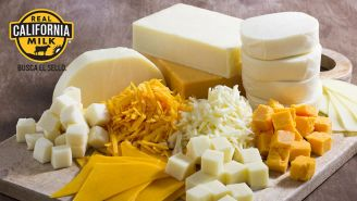 La gran línea de quesos Real California Milk
