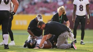 NFL: J.K. Dobbins se perderá el inicio de temporada con los Ravens por una lesión
