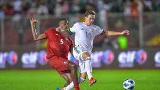 Sebastián Córdova en empate vs Panamá