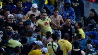 Conato de bronca entre aficionados azulcremas en el duelo entre América y Necaxa