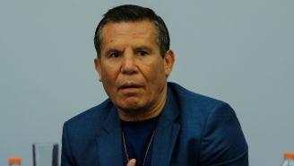 Julio César Chávez, durante un evento