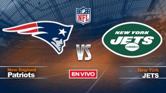 EN VIVO Y EN DIRECTO: New England Patriots vs New York Jets NFL S2