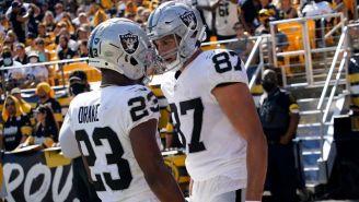 Raiders venció a Steelers