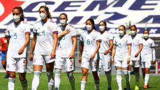 Jugadoras de la Selección Nacional de México Femenil