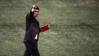 Gonzalo Pineda en un partido con Atlanta United