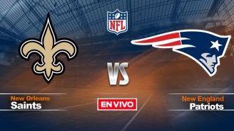 EN VIVO Y EN DIRECTO: Saints vs Patriots NFL Semana 3