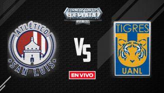 Atlético de San Luis vs Tigres Liga MX EN VIVO: Apertura 2021 Jornada 11