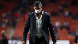 Robert Dante Siboldi durante un partido con Xolos
